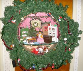 decorating-wreath