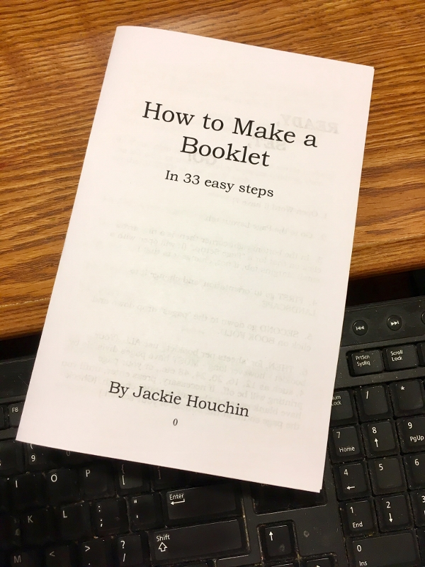 "How to Make A Booklet in 33 ""Easy"" Steps"