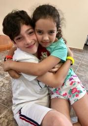 Italy18 Sibling hugs