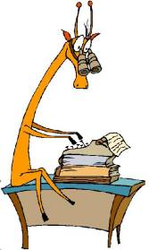 Writer Giraffe