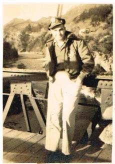 Dad in Japan 1945