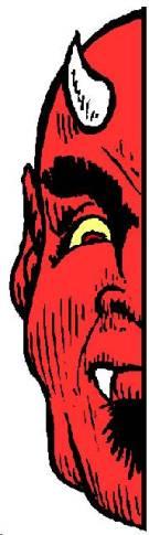 Devil Half Face