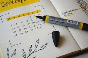 calendar for deadline