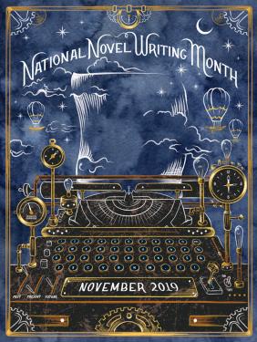 NaNo_2019_-_Poster_Design