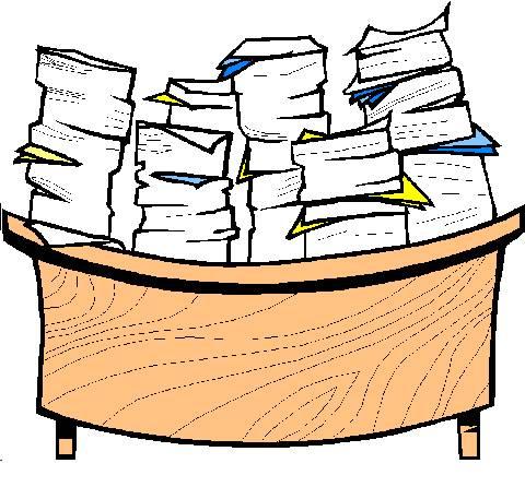 Office clutter 1